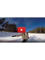 Открытие зимнего сезона 2018 на Урале с GoPro 5 Black