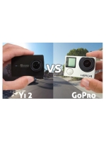Xiaomi Yi 4K Action Camera 2 сравнение с GoPro Hero4 Silver