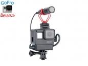 Крепление-рамка под аудиоадаптер для экшн-камер GoPro Hero5/Hero6/Hero7 | Poloz