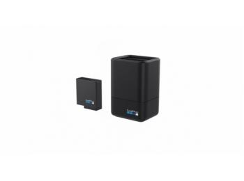 Dual Battery Charger + Battery (HERO7 Black) | Зарядное устройство на две батареи для экшн-камер GoPro Hero5/6/7/8 Black