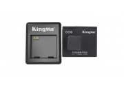 Зарядное устройство на два аккумулятора для экшн-камеры Xiaomi Yi Action Camera | KingMa