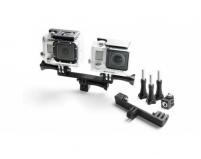 Переходник для крепежа двух экшн-камер GoPro | Telesin