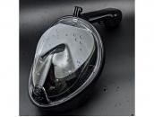 Полнолицевая маска для снорклинга с креплением для экшн-камер EasyBreath (черная)