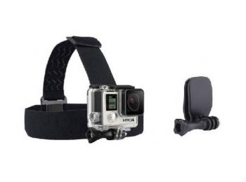Крепление на голову с прищепкой для экшн-камер FUJIMI