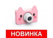 Детский фотоаппарат Поросенок со стабилизацией Fun Camera