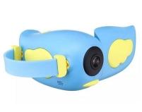 Детская видеокамера GSMIN Kids Camera (Голубая)