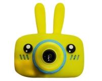 Детский цифровой фотоаппарат Зайчик GSMIN (Желтый)