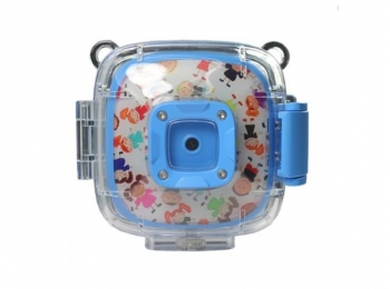 Водонепроницаемая детская экшн-камера GSMIN Action Camera for Kids (Голубая)
