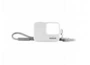 Sleeve + Lanyard GoPro | Белый силиконовый чехол с ремешком для экшн-камеры GoPro