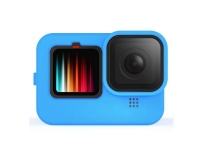 Силиконовый чехол для экшн-камеры GoPro Hero 9 Black (синий) | Poloz