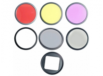 Набор светофильтров для экшн-камер GoPro Hero5/Hero6/Hero7 | KingMa