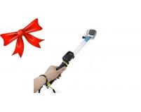 Монопод-поплавок с креплением под пульт для экшн-камер GoPro с бонусом | Poloz