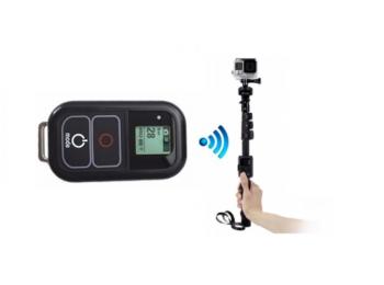 Комплект для селфи: монопод и пульт управления для экшн-камер GoPro | Poloz