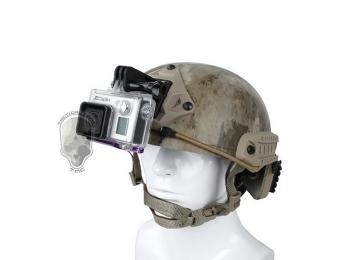 Облегченное крепление на армейскую каску для экшн-камер GoPro | Poloz