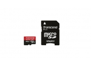 Transcend microSDHC 64GB (TS64GUSDU1) | Карта памяти 64GB для экшн-камер GoPro
