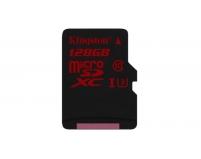 Kingston microSDXC 128GB (SDCA3/128GBSP) | Карта памяти 128GB для записи 4K