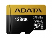 A-Data microSDXC UHS-II 128GB (AUSDX128GUII3CL10-CA1) | Карта памяти 128GB для квадрокоптеров | A-Data