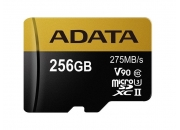 A-Data microSDXC UHS-II 256GB (AUSDX256GUII3CL10-CA1) | Карта памяти 256GB для квадрокоптеров | A-Data
