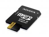 A-Data microSDXC UHS-II 256GB (AUSDX256GUII3CL10-CA1)   Карта памяти 256GB для квадрокоптеров   A-Data