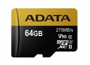 A-Data microSDXC UHS-II 64GB (AUSDX64GUII3CL10-CA1) | Карта памяти 64GB для квадрокоптеров | A-Data