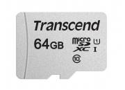 Transcend microSDHC 300S 64GB | Карта памяти 64GB для экшн-камер | Transcend