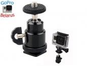 Шарнирное крепление на фотоаппарат для экшн-камер GoPro | Poloz