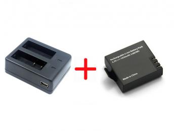 Зарядное и аккумулятор для экшн-камер EKEN | EKEN