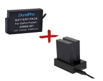 Зарядное и аккумулятор для экшн-камер GoPro Fusion | DuraPro