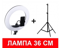 Кольцевая лампа 36 см + штатив 2 метра | Ring Light