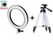 Кольцевая лампа 26 см + штатив 1 метр | Ring Light