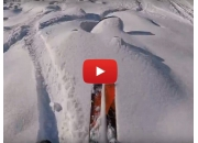 На лыжах в Шерегеше
