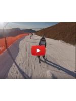 Катание на лыжах в Доломитовых Альпах