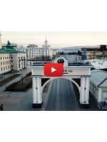 Аэросъёмка: Улан-Удэ и Байкальск