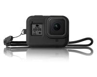 Силиконовый чехол для экшн-камеры GoPro Hero8 Black | Telesin