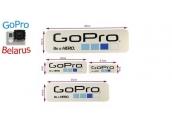 Набор наклеек с логотипом GoPro