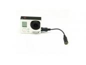 Аудио адаптер для экшн-камер GoPro Hero3/Hero4   KingMa