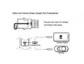 Кабель USB Mini для питания экшн-камер GoPro от стедикама | FeiyuTech