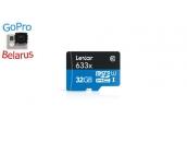 32GB Lexar® microSDHC Memory Card | Карта памяти 32GB для экшн-камер GoPro