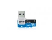 64GB Lexar® microSDHC Memory Card | Карта памяти 64GB для экшн-камер GoPro