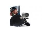 Крепление-прищепка на бейсболку для экшн-камер GoPro   Telesin
