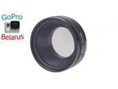Поляризационный CPL фильтр для экшн-камер GoPro Hero3/Hero4   KingMa